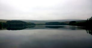 Bokeh sjö Royaltyfria Bilder