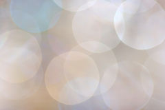Bokeh in soft colors Stock Photo