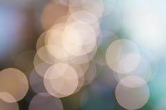 Bokeh soft lights  bright background Stock Image