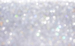 Free Bokeh Sparkle Silver Glitter Abstract Patterns For Christmas And Happy New Year Background Royalty Free Stock Image - 161040986