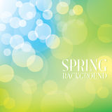 Bokeh Spring Background Royalty Free Stock Images