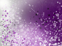 Bokeh spring. Bokeh pattern background effect Royalty Free Stock Photography