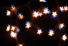 Bokeh stars Royalty Free Stock Images