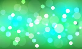 Bokeh stars  and blur as the abstract and green background. And Look lively and look bright and feel the love and serve as a backdrop Stock Image