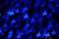 Bokeh stars lights Stock Photography