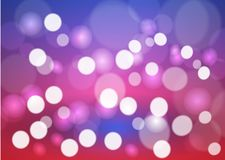 Bokeh stars round and blur as the abstract and Colorful and pret. Ty and stylish background. The vivid and bright and feels loved and used as a backdrop Stock Photography