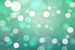 Bokeh stars round and blur as the abstract and green background. And Look lively and look bright and feel the love and serve as a backdrop Royalty Free Stock Photos
