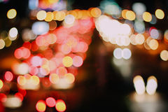 Bokeh street Royalty Free Stock Images