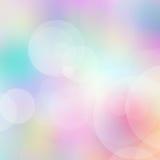 Bokeh suddig ljusbakgrund Arkivfoton