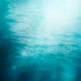 Bokeh summer sea background Stock Image