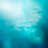 Bokeh summer sea background Royalty Free Stock Images