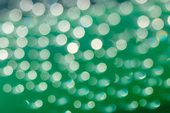Bokeh sunlight with   Abstract  green Stock Photography
