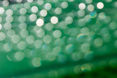Bokeh sunlight with   Abstract  green Stock Image