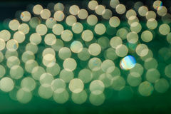 Bokeh sunlight with   Abstract  green Stock Photos