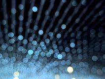 Bokeh sznurek Zaświeca abstrakt zdjęcie royalty free