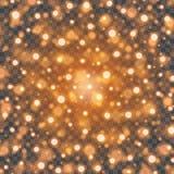 Bokeh tänder - apelsinen mousserar på illustration för stordiabakgrundsvektor Royaltyfri Fotografi
