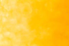 Bokeh tło z kolorem żółtym Fotografia Stock