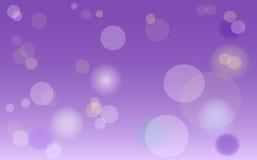 Bokeh tła abstrakcjonistyczna purpurowa tekstura Zdjęcie Royalty Free