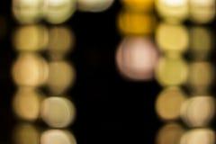 Bokeh tło - abstrakcjonistyczni okno Zdjęcie Royalty Free