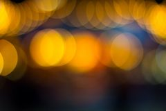 Bokeh taken in Winter Wonderland Royalty Free Stock Photography