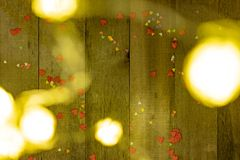 Bokeh texture for writing text congratulations on Christmas or Valentine`s Day royalty free stock photo