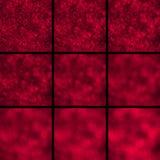 Bokeh Um grupo fora de círculos da luz do foco Fotografia de Stock