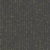 Bokeh unico senza cuciture della pioggia dell'oro Linee scintillanti di luci di luccichio Fili di scintillio Luci della ghirlanda illustrazione vettoriale
