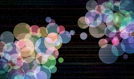 Bokeh Universe Background Royalty Free Stock Images