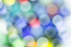 Bokeh-Unschärfe-Zusammenfassungshintergrund Stockfoto
