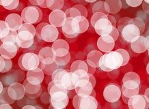 Bokeh vago con progettazione rossa astratta della disposizione del fondo, te di web Fotografie Stock
