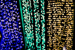 Bokeh vago della luce variopinta del LED fotografia stock libera da diritti