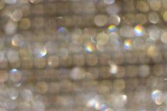 Bokeh van lichten op zwarte achtergrond royalty-vrije stock foto