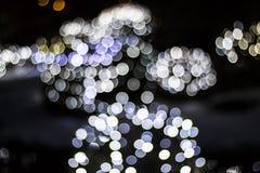 Bokeh van Seizoengebonden Lichten Royalty-vrije Stock Afbeeldingen