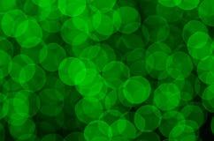 Bokeh verde Fotos de archivo