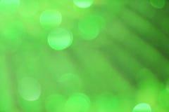 Bokeh verde del fondo Imagen de archivo libre de regalías