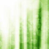 Bokeh vert avec l'étoile, lune, fond clair illustration libre de droits
