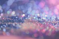 bokeh verwischte abstrakten Hintergrund für Geburtstag, Jahrestag, Hochzeit, Sylvesterabend oder Weihnachten stockbild