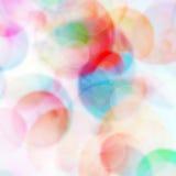 Bokeh verwischte Lichthintergrund vektor abbildung