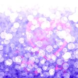 Bokeh Vibrant Mauve Pink Background With Blurry Lights. Bokeh Vibrant mauve Pink Background With Blurry Light royalty free illustration