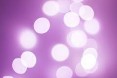 Bokeh violeta Imagen de archivo libre de regalías