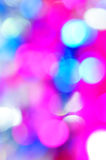 Bokeh vivid color background Stock Images