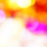 Bokeh vivid color background Royalty Free Stock Photos