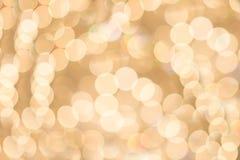Bokeh vom Leuchter Lizenzfreies Stockfoto