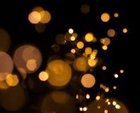 Bokeh von LED-Taschenlampen lizenzfreie stockfotografie