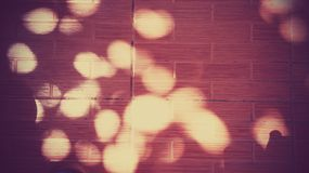 Bokeh wall Background Stock Image