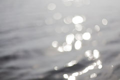Bokeh on water. Abstract background. Color Bokeh  for use at graphic design and photography Royalty Free Stock Photography