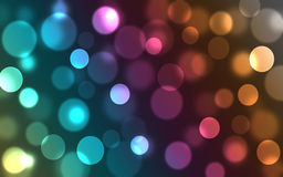 Bokeh-Wellpaper Fotografia de Stock Royalty Free
