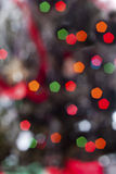 Bokeh xmas lights Stock Photos