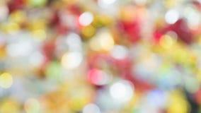 Bokeh y modelo de la llamarada de la lente para el festival Año Nuevo te del fondo Fotos de archivo