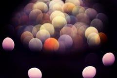 Bokeh zaświeca tło, kolorowa błyskotliwość defocused fotografia stock